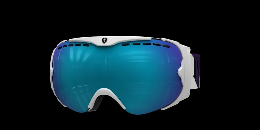 Guard Smallface L V White with blue multi lens