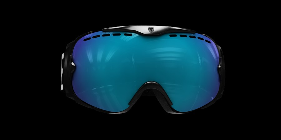 Guard Smallface L V Black with blue multi lens
