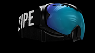 Guard Smallface L IV Black with blue multi lens
