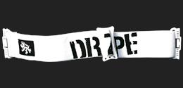 Spare Strap Brat/Escort Black/White Dragon