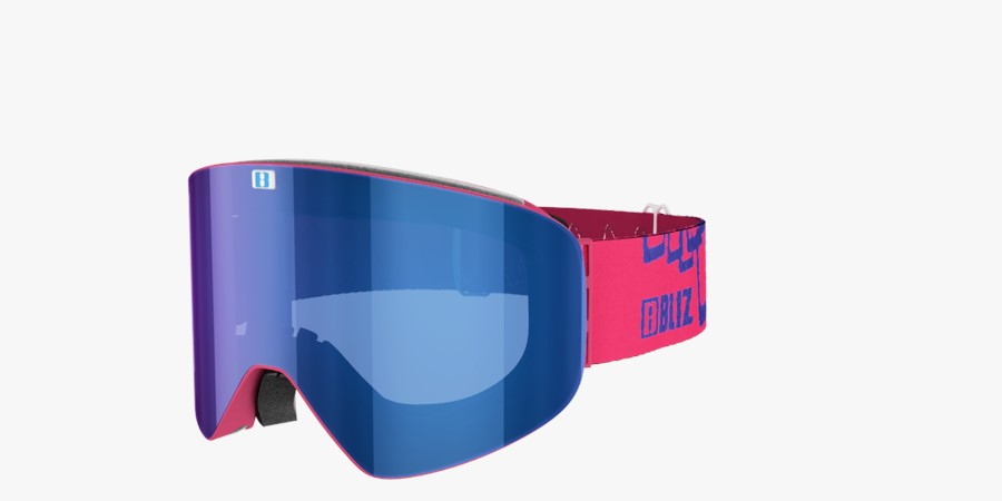 Flow Pink w. Blue multi