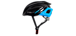 Defender Bike Helmet Black Blue Small Medium