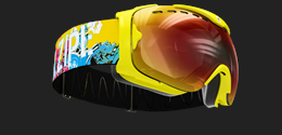 Guard Level VI Goggles - Yellow Comic