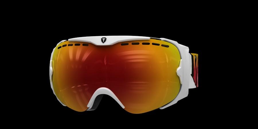Guard Smallface L V White with red multi lens