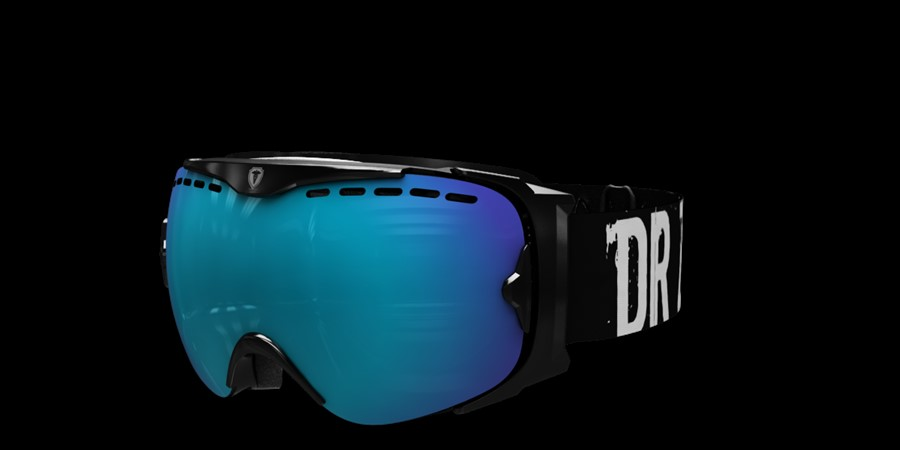 Guard Smallface L V Black with blue multi lens