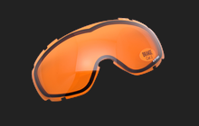 Spherical Sparelens Orange