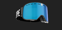 Savage - Black Goggle w blue multi lens