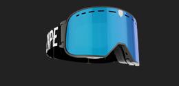 Savage - Svart Goggle m blå multilins