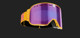 Savage - Orange Goggle w purple multi lens