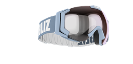 Carver SmallFace - Light blue w mirror lens