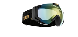 Carver SmallFace - Black w gold multicoated lens