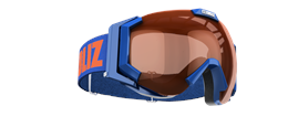 Carver Goggles - Blue w orange contrast lens