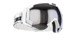 Carver Goggle - White w mirror lens