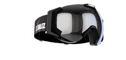 Carver Goggles - Black w mirror lens