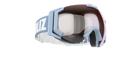 Carver Goggles - Light Blue w mirror lens