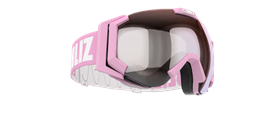 Carver Goggles - Pink w mirror lens