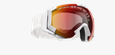 Carver Goggles - Grey w red multicoated lens