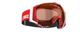 Carver Goggles - Red w orange contrast lens