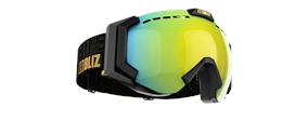 Carver Goggles - Black w gold multicoated lens
