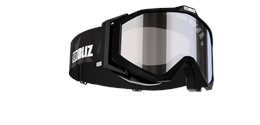 Edge Goggles - Black w mirror lens