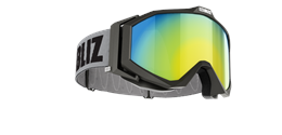 Edge Goggles - Black w gold multi lens