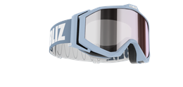 Edge Goggles - Light blue w mirror lens
