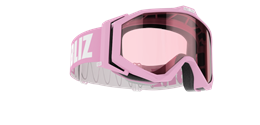 Edge Goggles - Pink w mirror lens