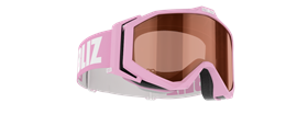 Edge Goggles - Pink w orange contrast lens