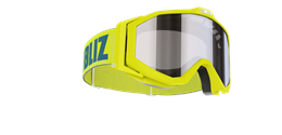 Edge Junior Goggles - Lime green w mirror lens