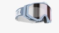 Edge Junior Goggles  - Ljusblå med spegellins