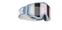 Edge Junior Goggles - Light blue w mirror lens