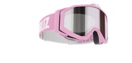 Edge Junior Goggles - Pink w mirror lens