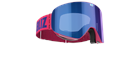 Flow Goggles - Rosa med blå multilins