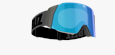 Air Goggles - Black with smoke blue multi lens
