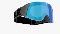 Air Goggles - Svart med blå multilins