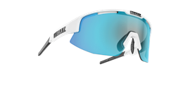 Matrix sports glasses - White w blue multi