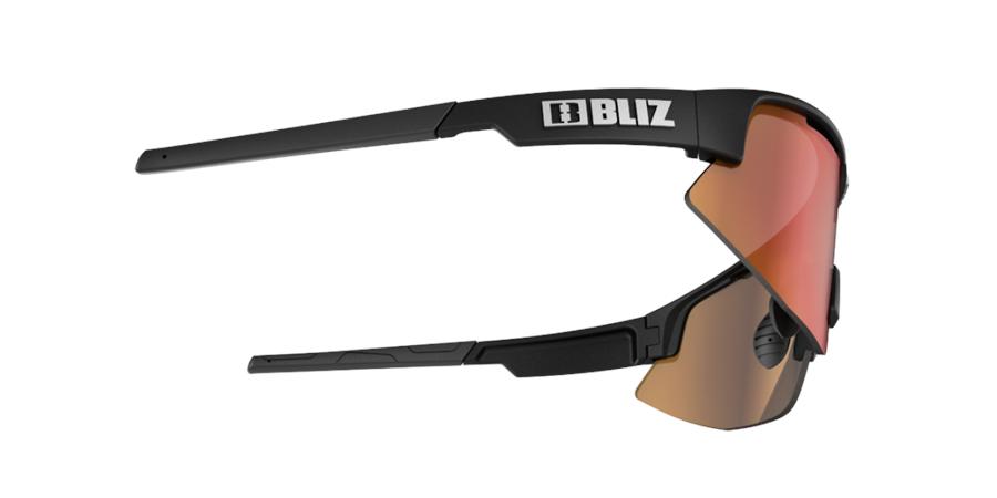 Matrix sports glasses - Black w red multi