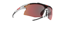Tempo Sports glasses - Black w red multi lens