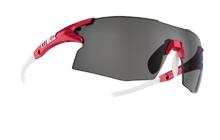 Tempo sports glasses - Red w silver mirror